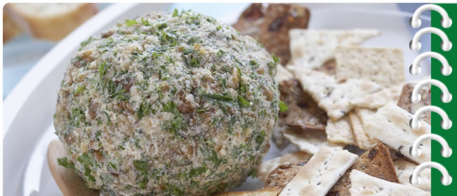 Dilly Crunch Cheese Ball