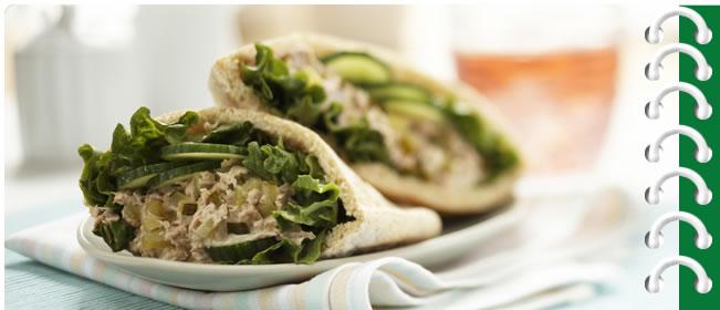 Bick's® Tangy Tuna Sandwich