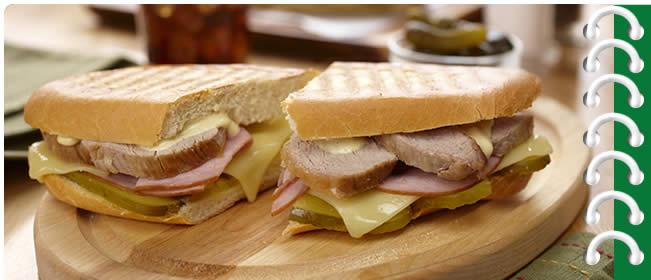 Grilled Cuban Style Sandwich