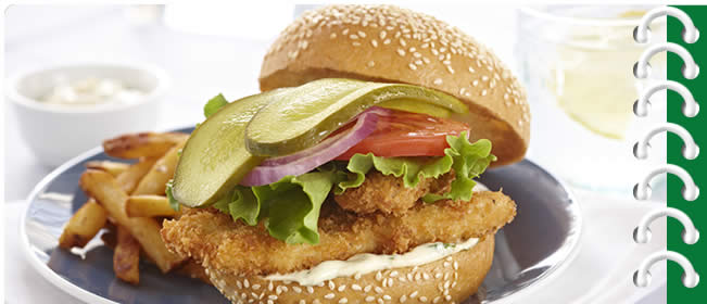 Crispy Chicken Schnitzel Sandwiches with Kicked up Dressing