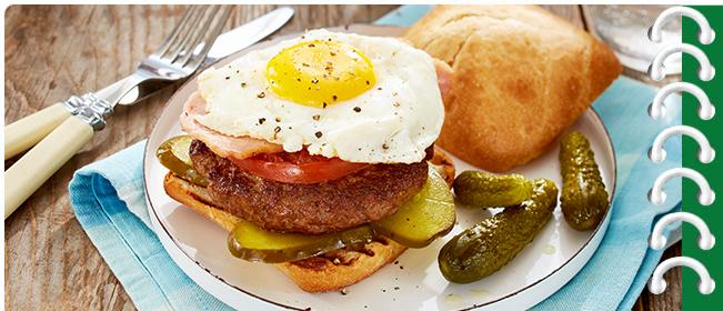 The Muskoka Breakfast Burger