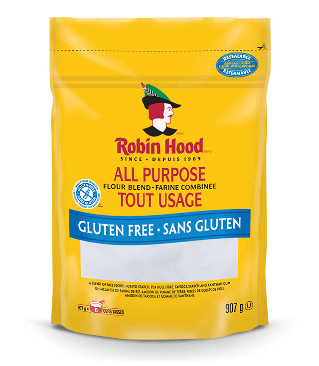 Gluten free all purpose flour with xanthan gum