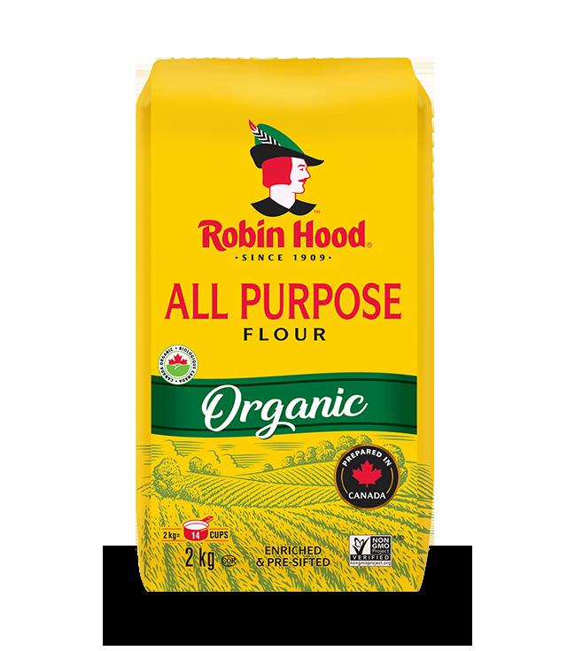 Robin Hood®  Organic All Purpose Flour(Unbleached)