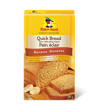 <strong>Robin Hood<sup>®</sup></strong> Quick Bread Mix Banana Flavoured