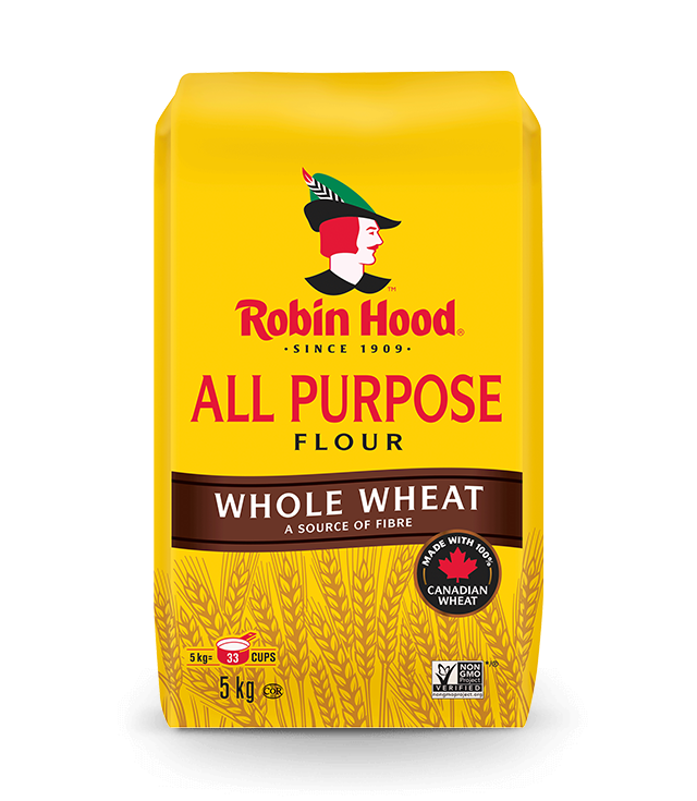 <strong>Robin Hood<sup>®</sup></strong> Whole Wheat All Purpose Flour