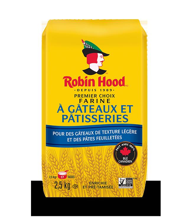 Farine à gâteaux et pâtisseries Premier choix <strong>RobinHood<sup>®</sup></strong>