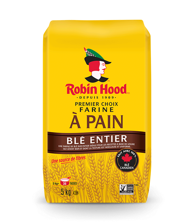 Farine à pain de blé entier Premier choix <strong>RobinHood<sup>®</sup></strong>