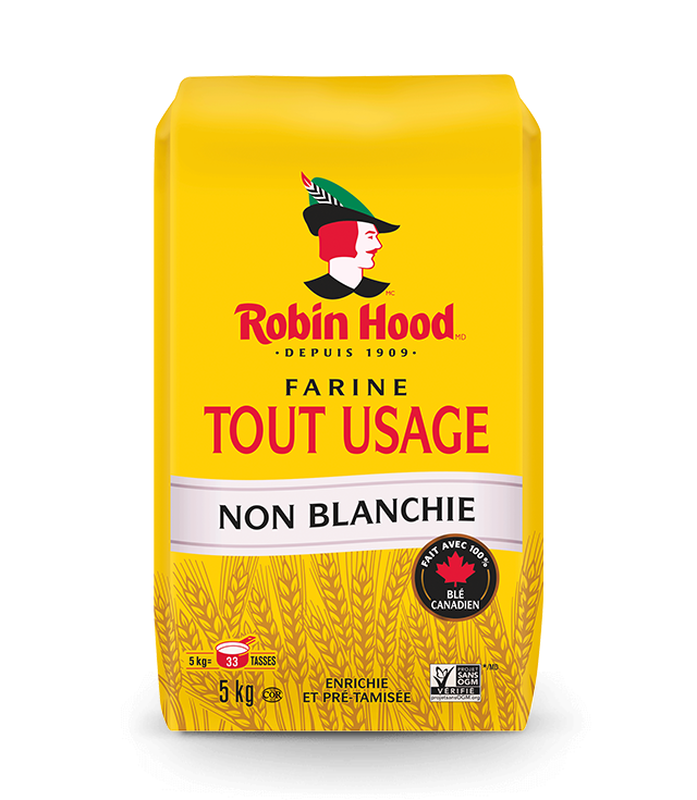 Farine non blanchie tout usage <strong>RobinHood<sup>®</sup></strong>