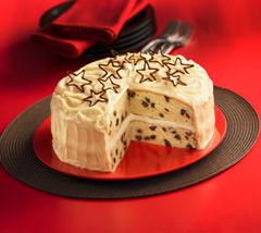 Vanilla Chocolate Chip Layer Cake
