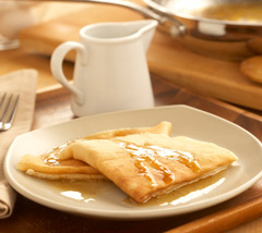 Maple Butter Crêpes