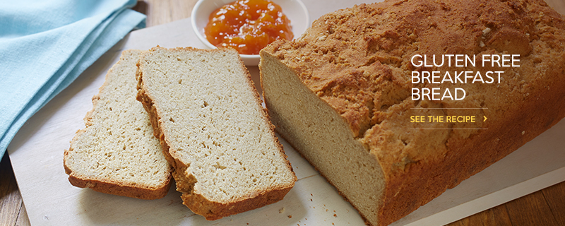 Gluten Free* Breakfast Bread