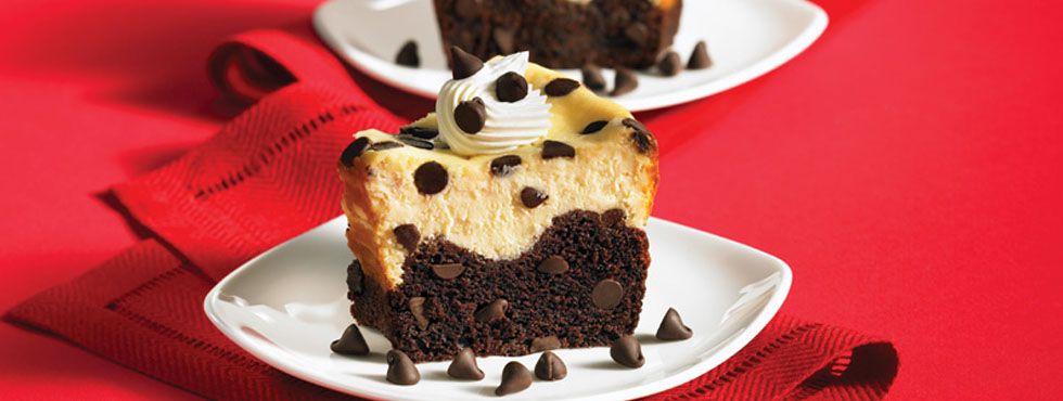 Chocolate Chip Black Bottom Cheesecake | Recipes