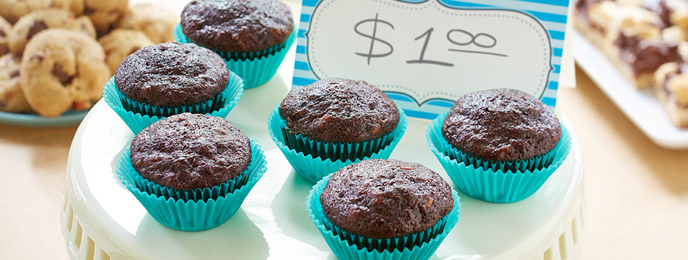Chocolate Zucchini Muffins |Recipes