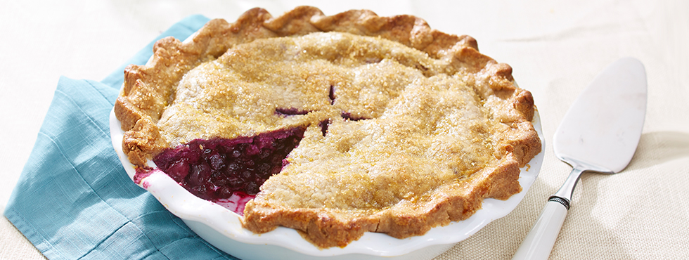 Home / Recipes / Gluten Free / Gluten Free* Blueberry Pie