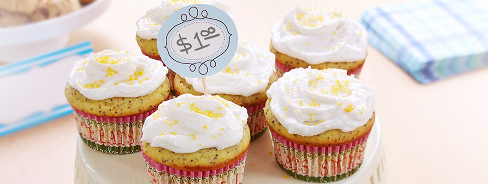Lemon Poppy Seed Cupcakes | Recipes