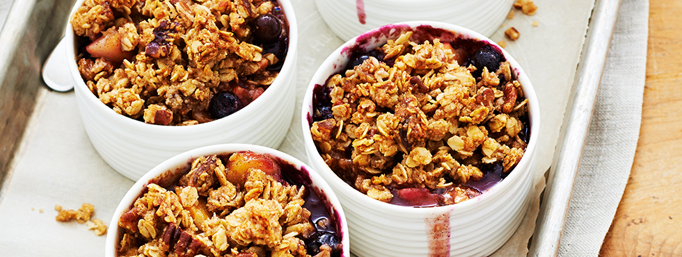 Orchard and Berry Fruit Crisp | Recipes