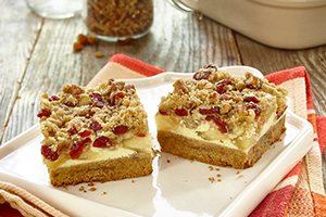 Harvest Apple Streusel Squares