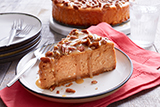 Maple Pecan Pumpkin Cheesecake