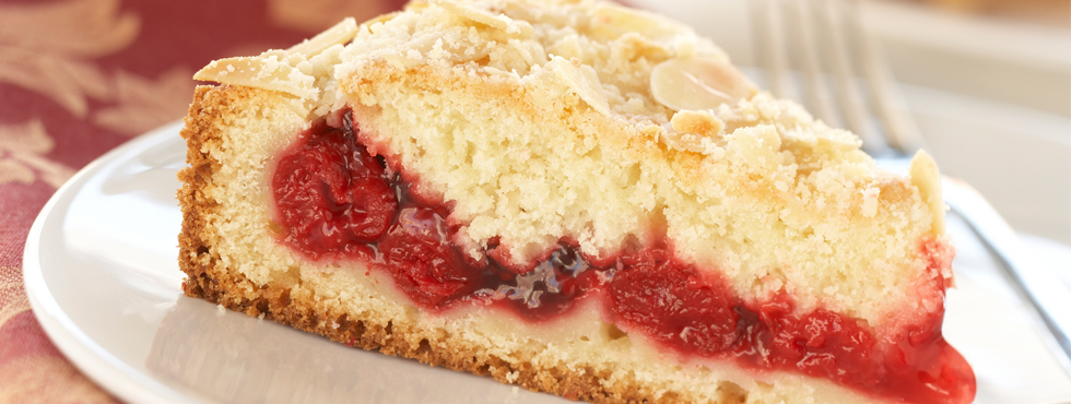 Cherry Almond Coffeecake | Recipes