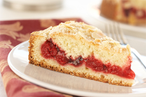 Cherry Almond Coffeecake