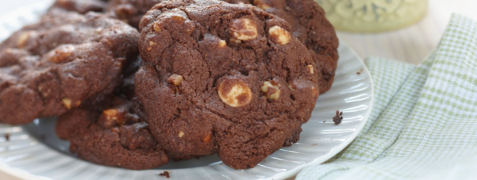 Chocolatey Chocolate Chip Cookies | Recipes