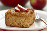 Moist & Chewy Caramel Apple Cake
