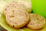 Hazelnut Shortbread Refrigerator Cookies