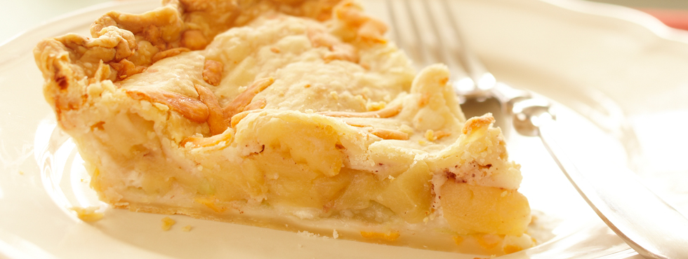 Cheesy Apple Pie | Recipes