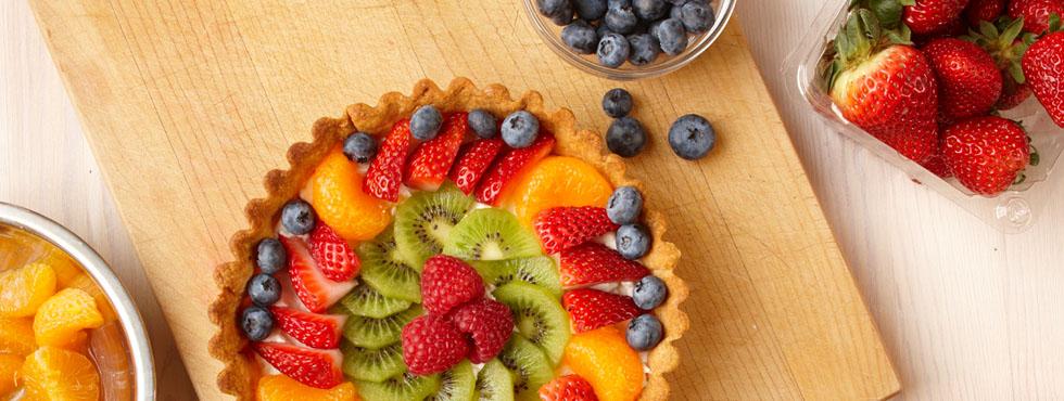 Fruit Flan | Recipes