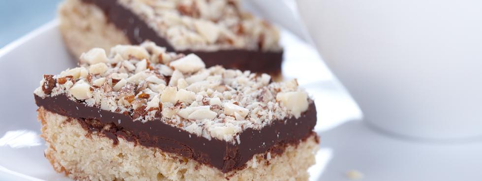 Chocolate Almond Bars | Recipes