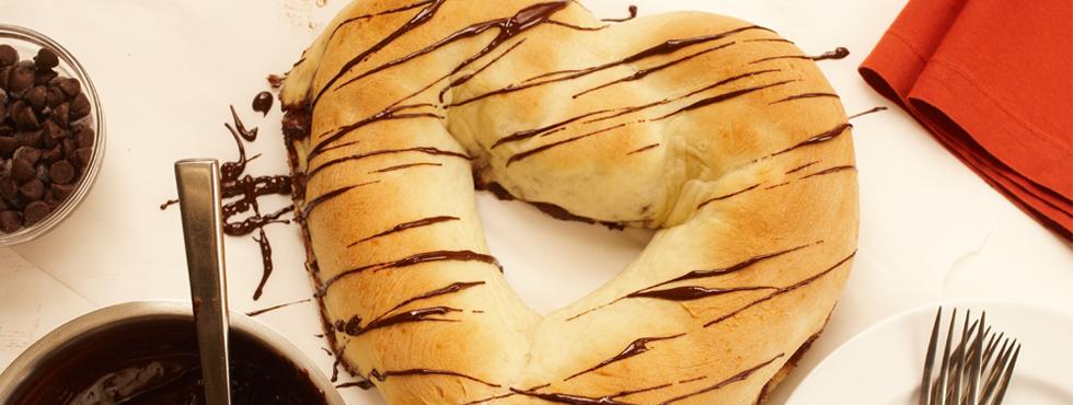 Chocolate Sweet Heart Bread | Recipes