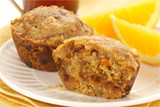 Whole Wheat Orange Date Muffins