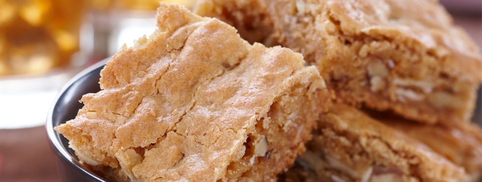 Chewy Butterscotch Squares | Recipes