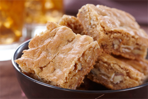 Chewy Butterscotch Squares