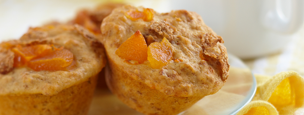 Good Morning Apricot Muffins | Recipes