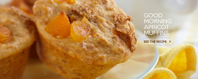 Good Morning Apricot Muffins