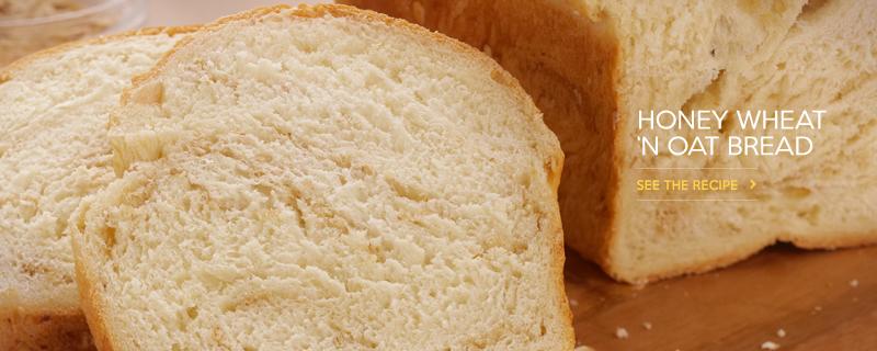 Honey Wheat n Oat Bread