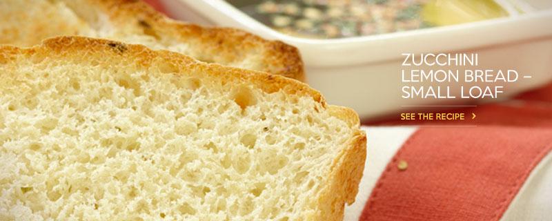 Zucchini Lemon Bread - Small Loaf