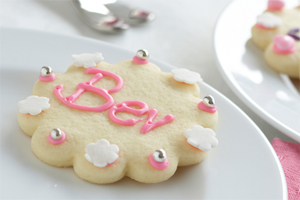 Place Card Sugar Cookies