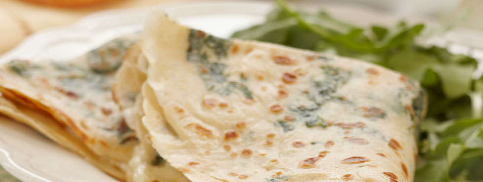 Spinach and Cheese Crepes | Recipes