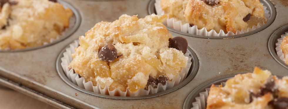Ginger Chip Muffins | Recipes