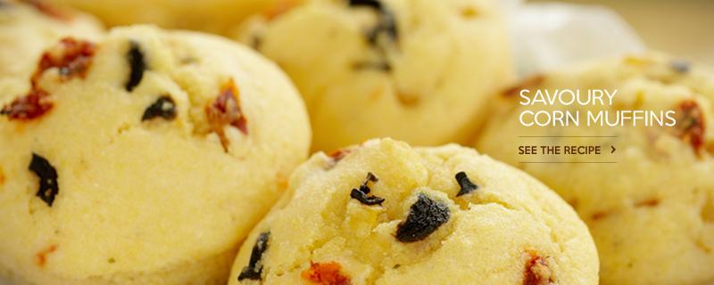 Savoury Corn Muffins