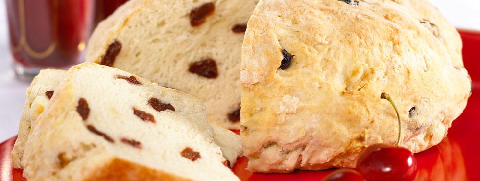 Dried Cherry Soda Bread | Recipes