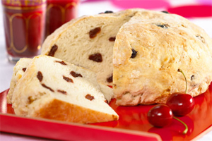 Dried Cherry Soda Bread