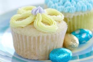 Surprise Spring Cupcakes