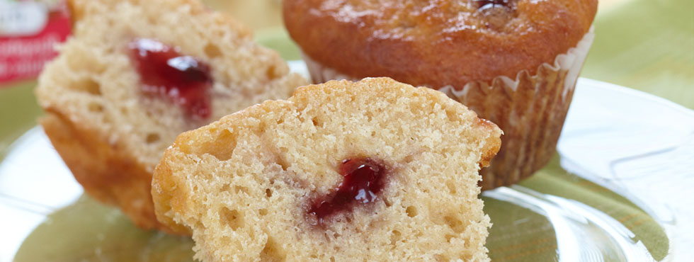 ... Baking with Kids / Muffins, Biscuits, & Quick Breads / Jam Swirl
