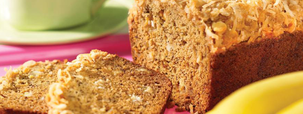 Banana Crunch Bread | Recipes
