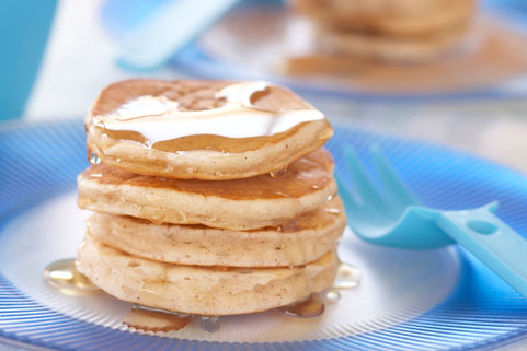 Apple Cinnamon Loonie Pancakes