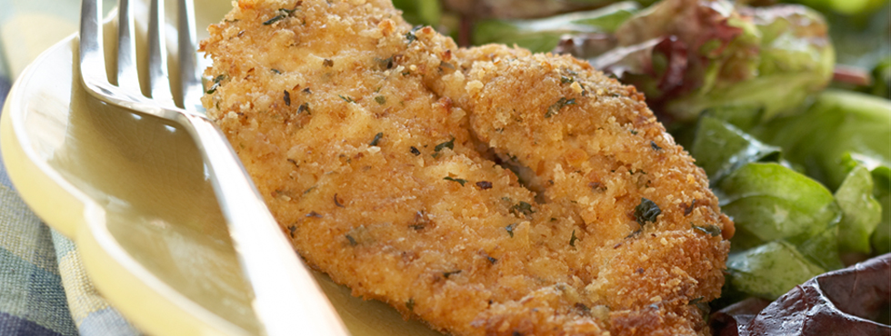Oven Fried Chicken Breast Cutlets | Recipes