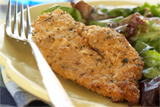 Oven Fried Chicken Breast Cutlets